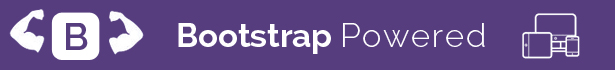 responsive grid is powered by bootstrap framework