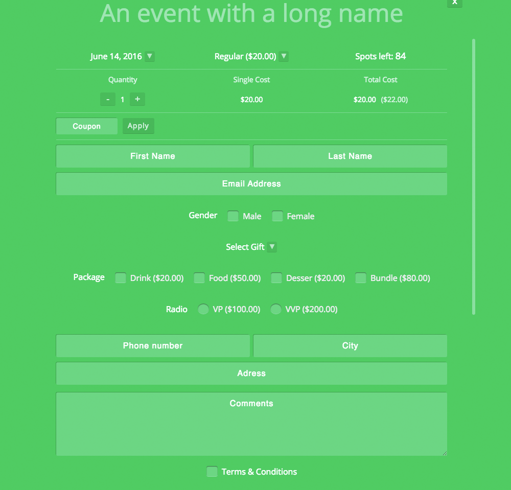 Event Booking Pro: Forms Manager Add on - 4