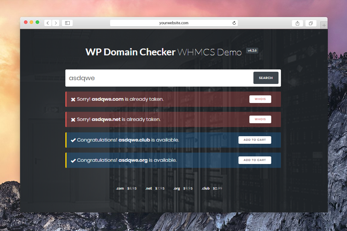 WP Domain Checker - 6