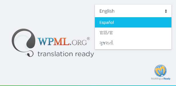 Translation Ready, RTL Support Included and WPML Compatible