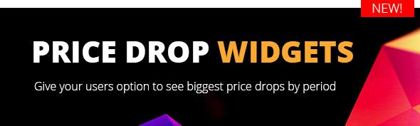 add price drop widget woocommerce