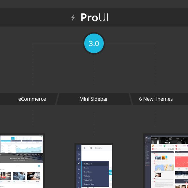 ProUI - Responsive Bootstrap Admin Template - 8