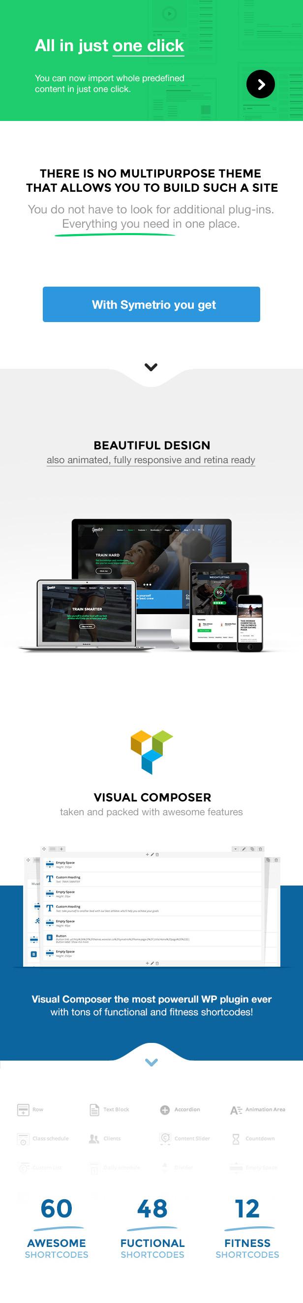 Symetrio - Gym & Fitness WordPress Theme - 2