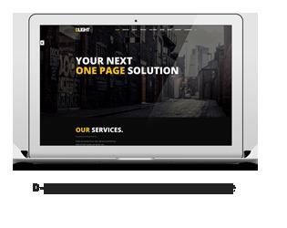 D-light - One Page Creative WordPress Template