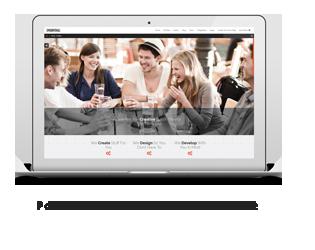 Portal - Creative Portfolio WordPress Template