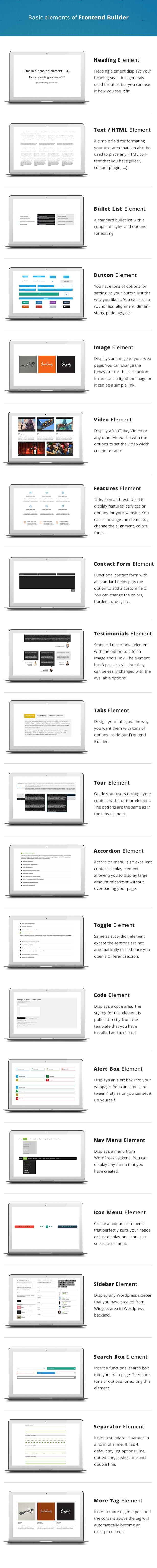 Frontend Builder - WordPress Content Assembler, Page Builder & Drag & Drop Page Composer - 5