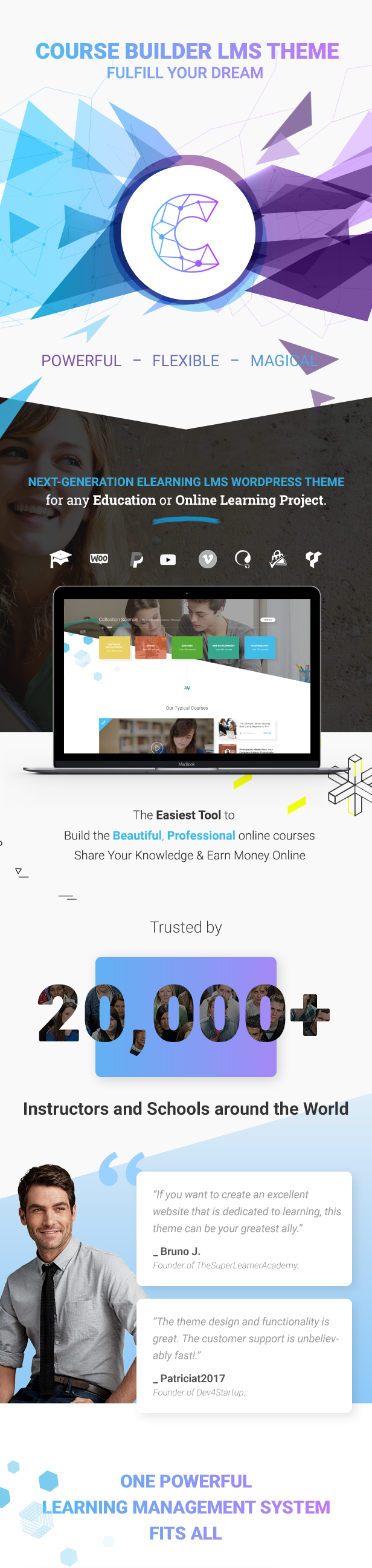 Powerful Learning Management System