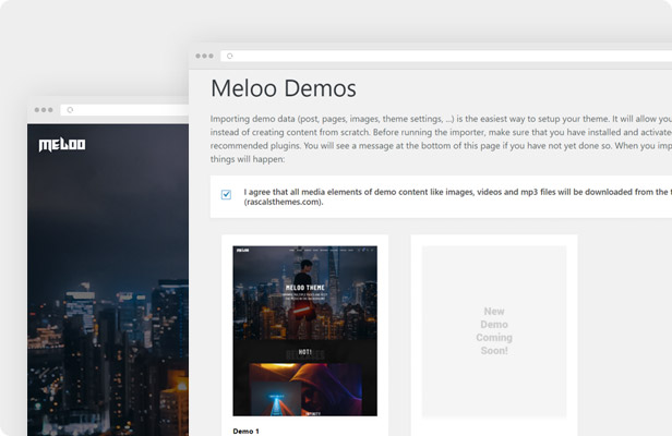 Epron WordPress Theme - One Click Demo Import