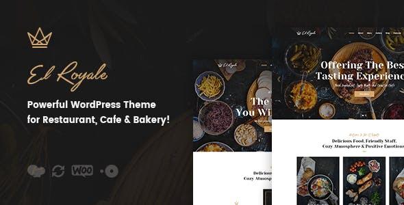 Elroyale - Restaurant & Cafe WordPress Theme