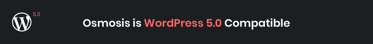 Osmosis WordPress 5.0