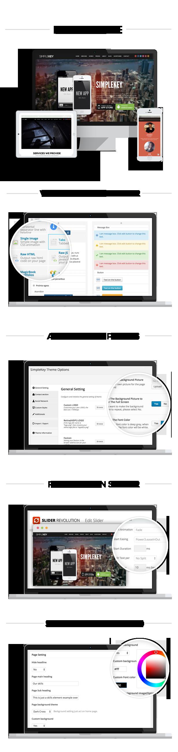 SimpleKey - One Page Portfolio WordPress Theme - 2