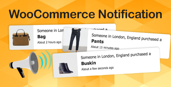 WooCommerce Notification   Boost Your Sales - Live Feed Sales - Recent Sales Popup - Upsells