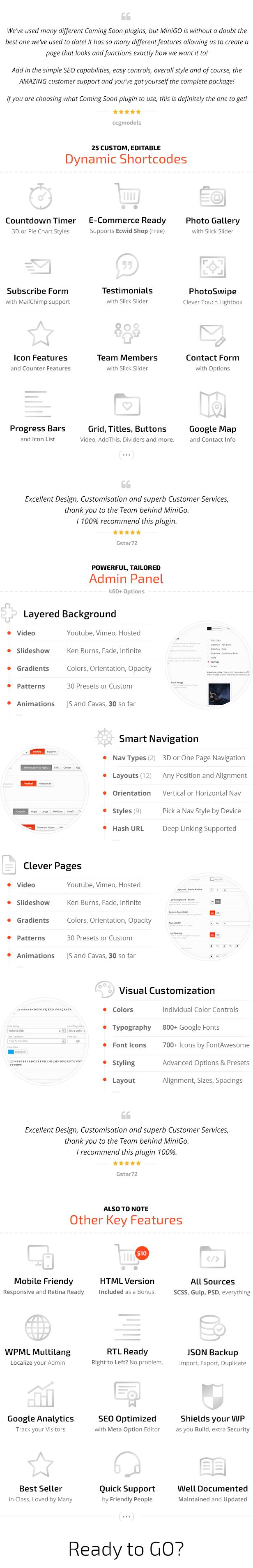 MiniGO - Luxury Mini Site Multi-Purpose Placeholder WP Plugin - 25