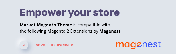 Market - Premium Responsive Magento 2 and 1.9 Store Theme with Mobile-Specific Layout (23 HomePages) - 1