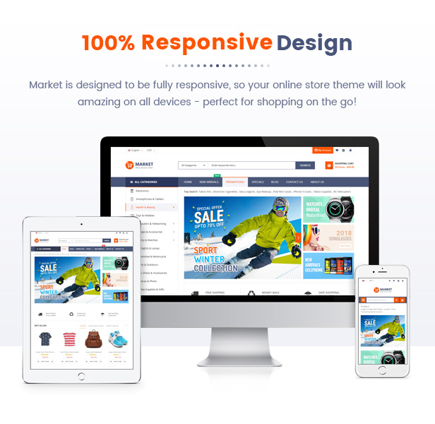 Best Magento 2 Themese - responsive