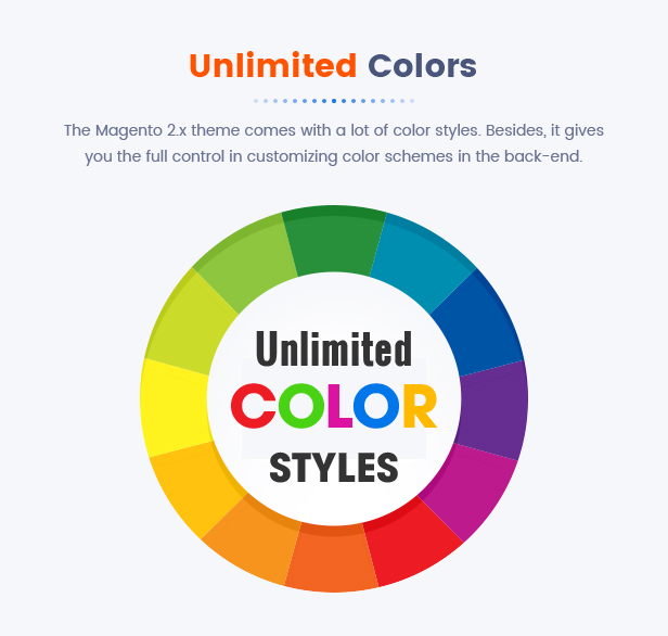 Best Magento 2 Themese - color