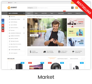 Market - Premium Responsive Magento 2 and 1.9 Store Theme with Mobile-Specific Layout (23 HomePages) - 16