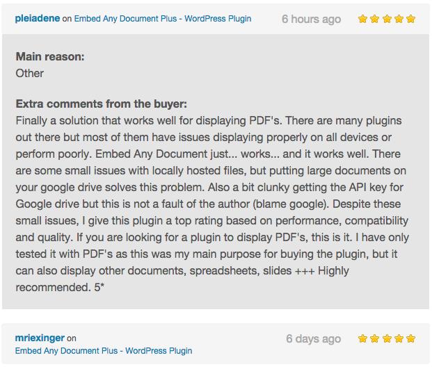 Embed Any Document Plus - WordPress Plugin - 9