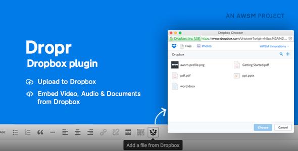 Dropbox Plugin for WordPress