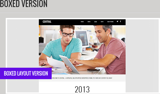 Central - Versatile, Multi-Purpose WordPress Theme - 4