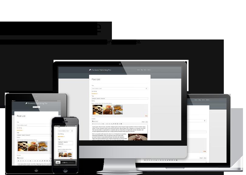 Frontend Publishing Pro - WordPress User Submission Plugin - 3