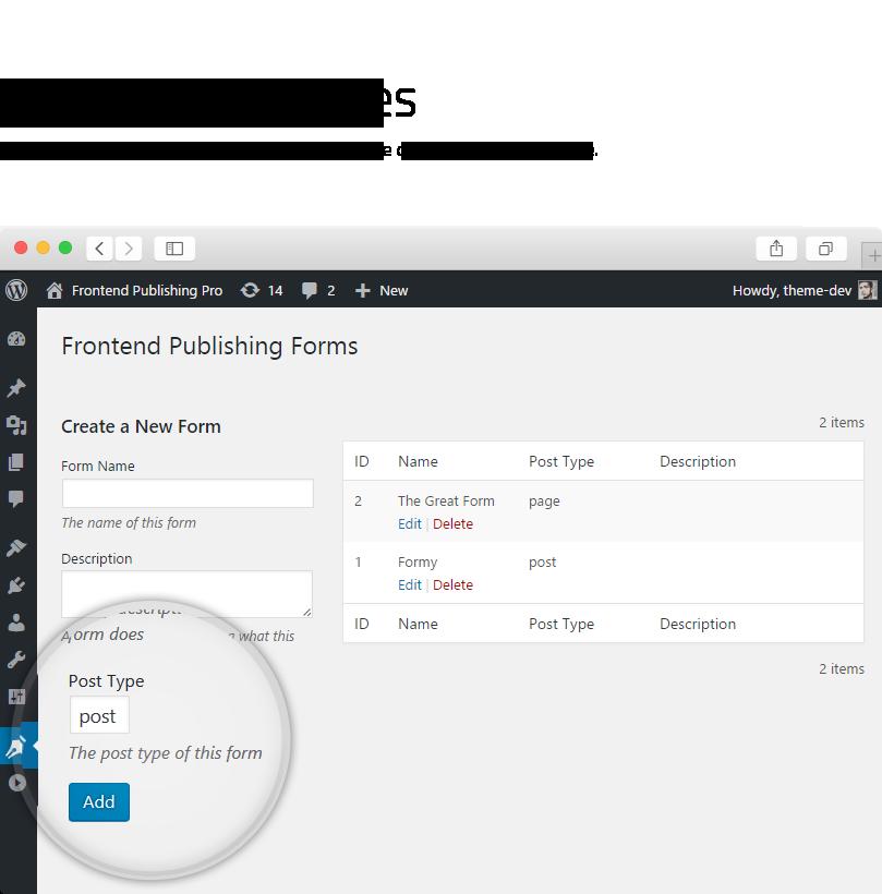 Frontend Publishing Pro - WordPress User Submission Plugin - 8