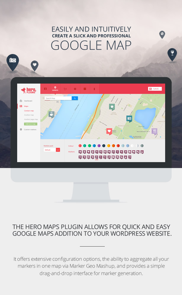 Hero Maps Premium - Responsive Google Maps Plugin - 4