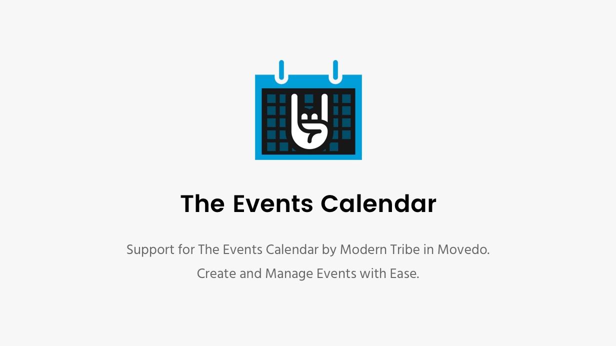 Movedo Events Calendar