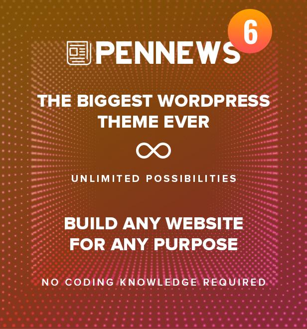 PenNews - Multi-Purpose AMP WordPress Theme - 3