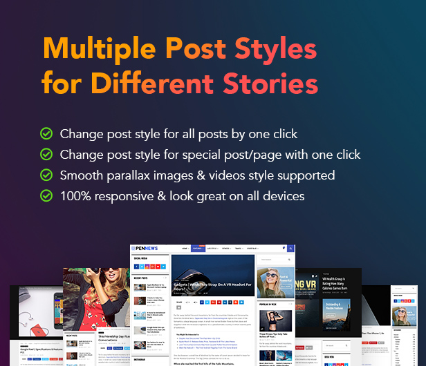 PenNews - Multi-Purpose AMP WordPress Theme - 13