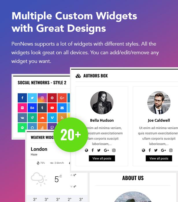 PenNews - Multi-Purpose AMP WordPress Theme - 21