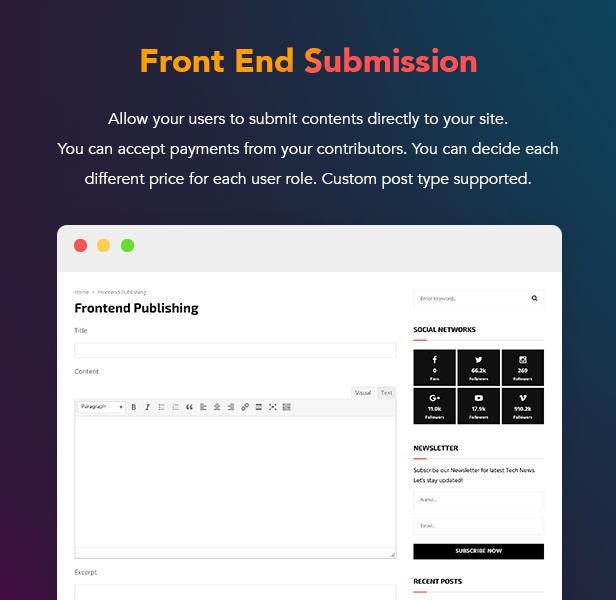 PenNews - Multi-Purpose AMP WordPress Theme - 19