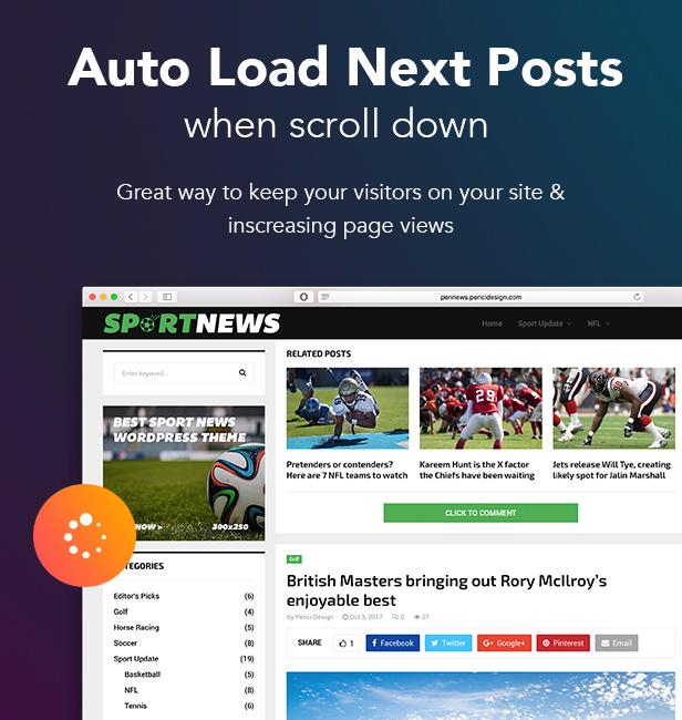 PenNews - Multi-Purpose AMP WordPress Theme - 30