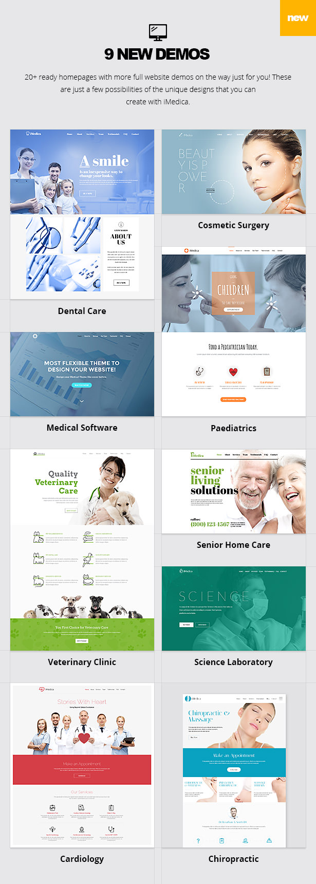 iMedica - Responsive Medical & Health WP Theme - 13