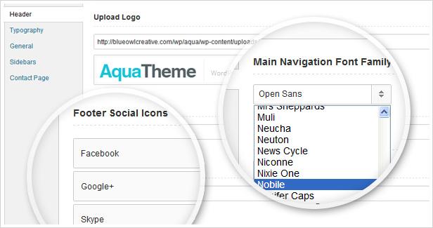 Aqua - Responsive Multi-Purpose WordPress Template - 5