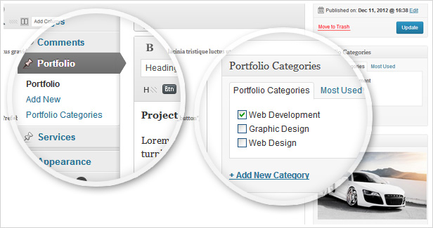 Aqua - Responsive Multi-Purpose WordPress Template - 7