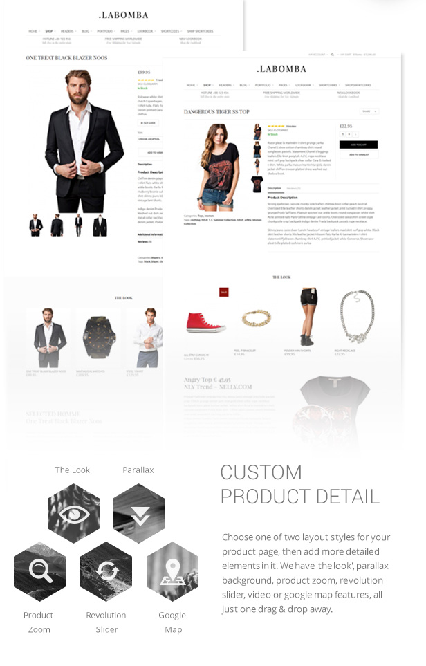 Labomba - Responsive Multipurpose WordPress Theme - 8