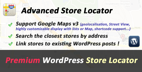Advanced Store Locator for WordPress