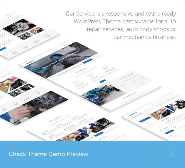 car, car repair, mechanic, car rental, auto service WordPress Theme