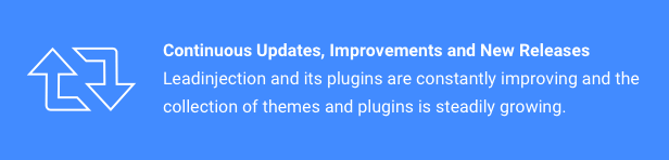 Continuous Updates, Improvements and New Releases