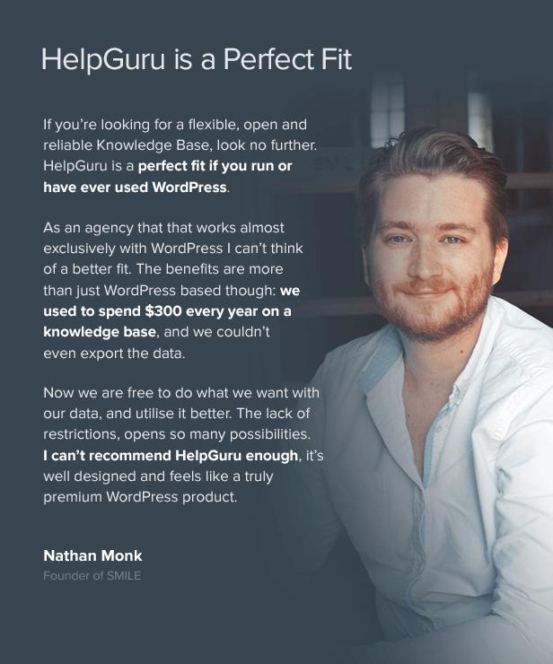 HelpGuru - A Self-Service Knowledge Base WordPress Theme - 4