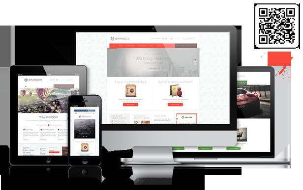 Brandon - Responsive Multi-Purpose WordPress Theme - 1