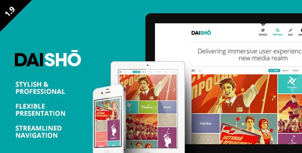 Daisho WordPress Theme