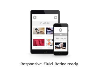 Responsive. Fluid. Retina ready.