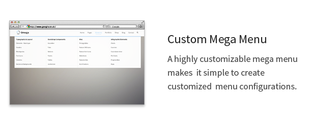Omega - Multi-Purpose Responsive Bootstrap Theme - 6