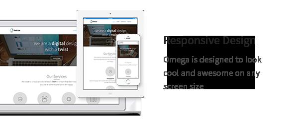 Omega - Multi-Purpose Responsive Bootstrap Theme - 7