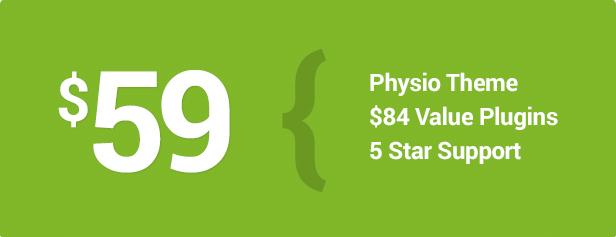Physio WordPress Theme CTA