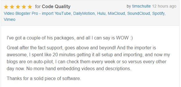 Video Blogster Pro - import YouTube videos to WordPress. Also DailyMotion, SoundCloud, Vimeo, more - 11