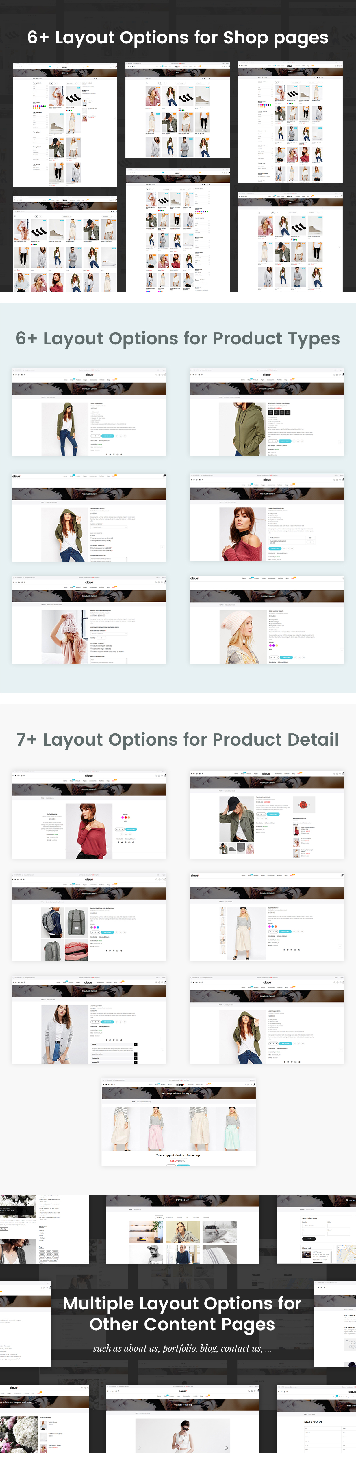Claue - Clean, Minimal Magento 2 and 1 Theme - 22