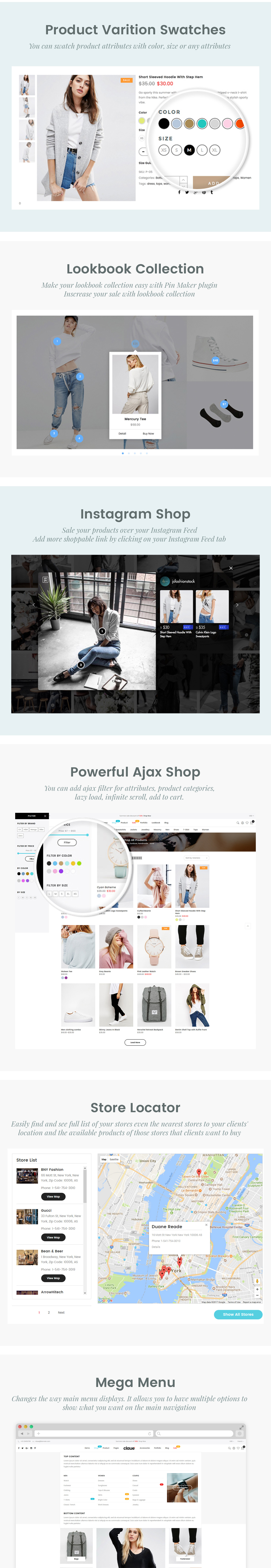 Claue - Clean, Minimal Magento 2 and 1 Theme - 14